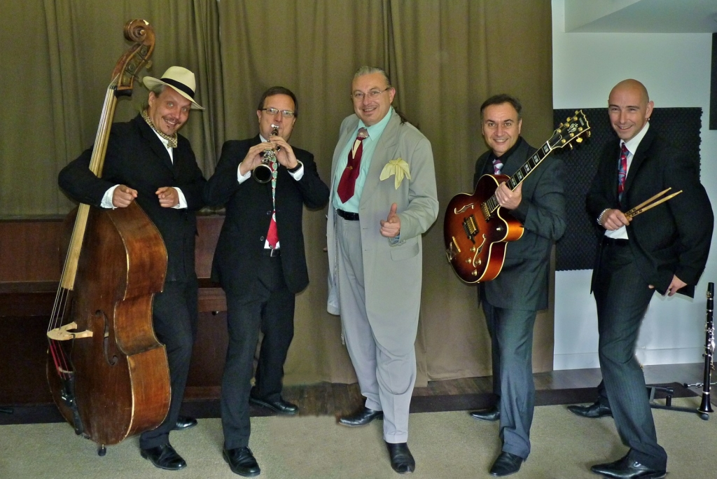 Orchestre jazz swing HOLLYWOOD SWINGERS