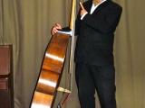 Orchestre jazz swing, contrebasse