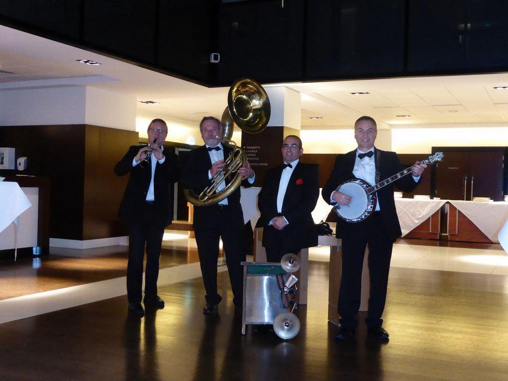 DIXIELAND PARADE quartet soirée de gala