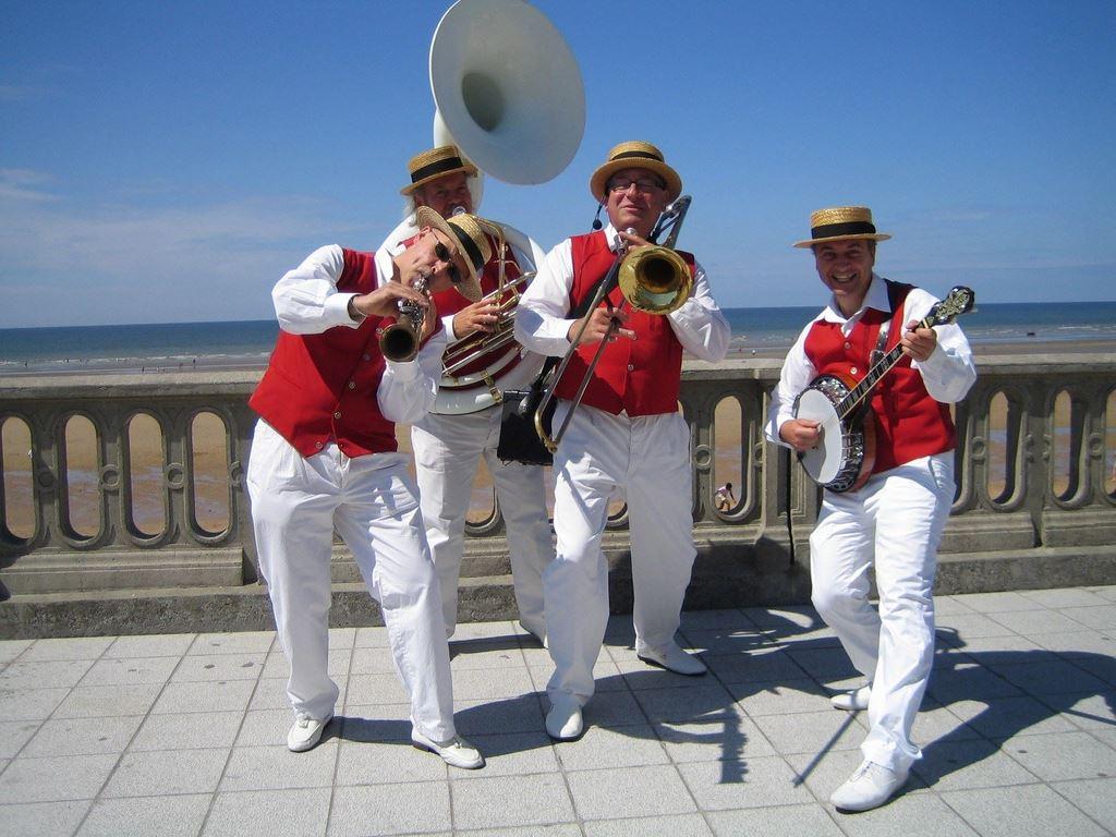 DIXIELAND PARADE quartet Cabourg