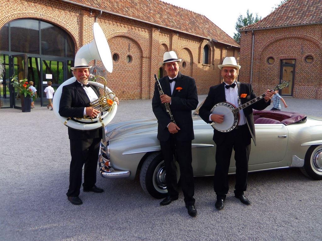 Orchestre DIXIELAND PARADE trio animation de mariage