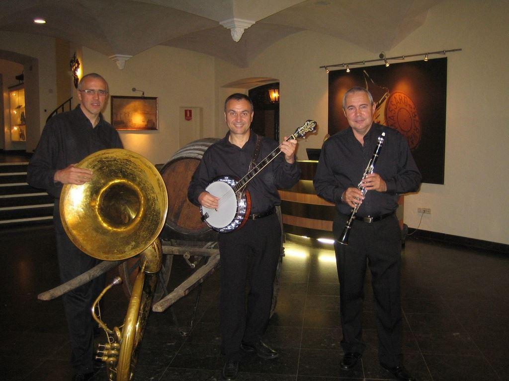 Orchestre DIXIELAND PARADE trio en Moselle