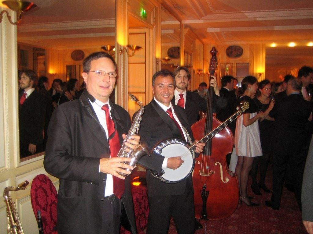Orchestre DIXIELAND PARADE trio Paris