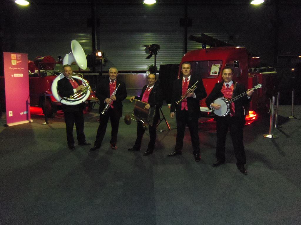 Orchestre jazz new orleans voeux du nouvel an