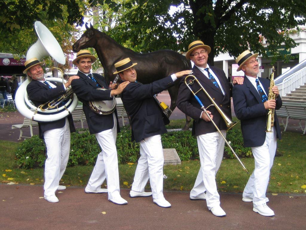 Orchestre jazz new orleans quintet en parade