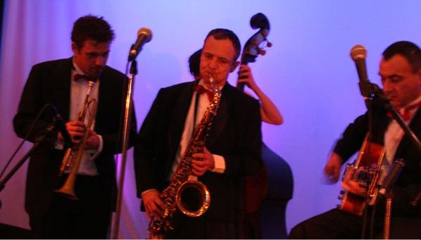 Orchestrede de jazz pour une ambiance musicale