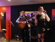 Le groupe jazzy night en duo en concert