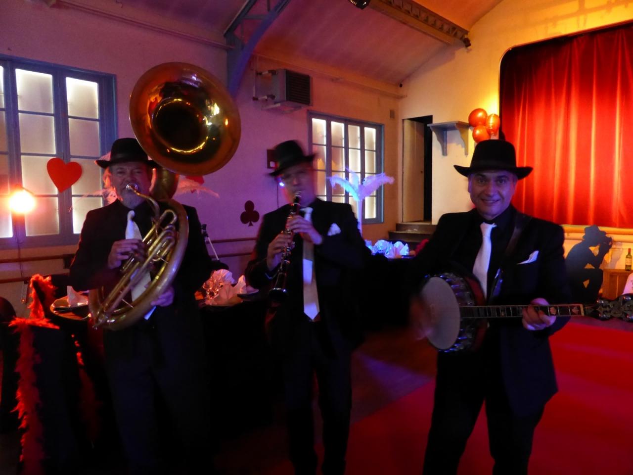 Jazzband Gatsby années 20 en trio