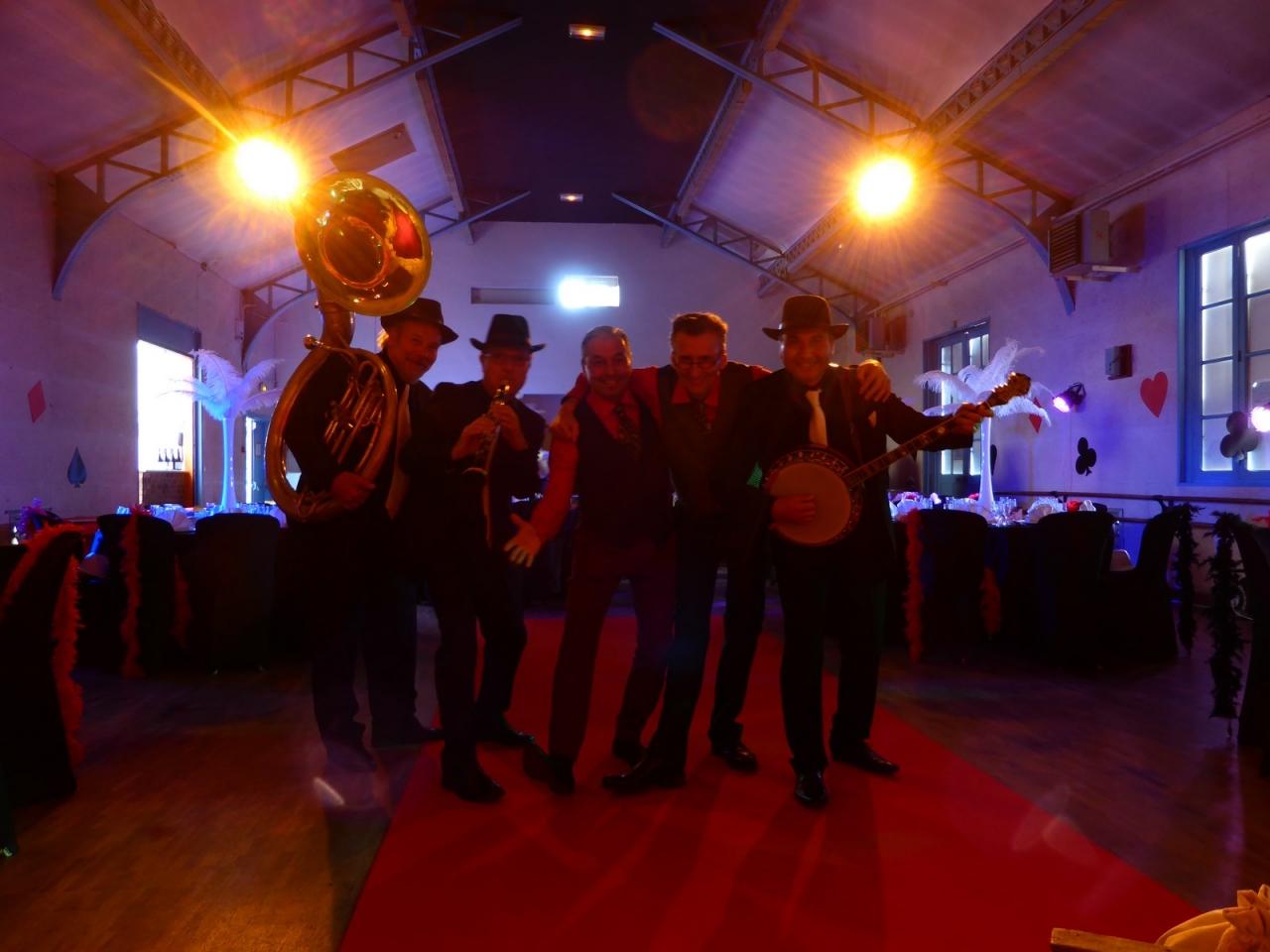 orchestre jazz prohibition claquettes