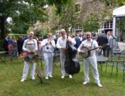 Le jazzband mariage dans les jardins de la Matelote à Boulogne-sur-Mer