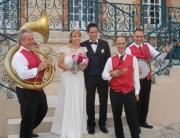 Orchestre jazz mariage : l'accueil des mariés