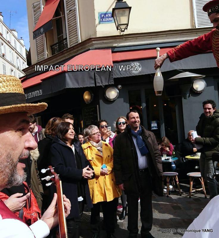 Trio jazz et chansons animation musicale sur les marchés de paris