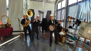 Groupe de jazz trio Gatsby années 20